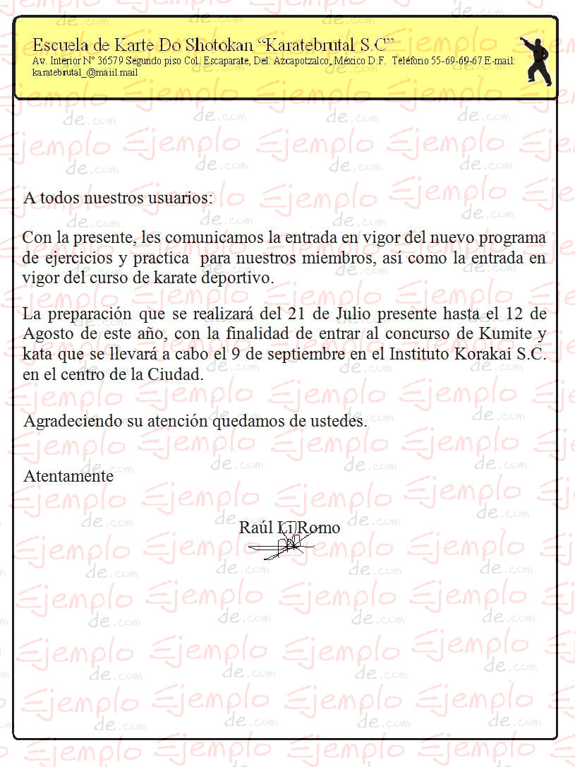 carta de recomendacion familiar
