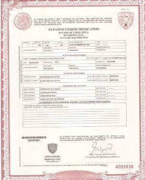 Registro civil de nacimiento colombia online dating 6