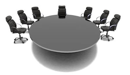 Una mesa redonda y sus características