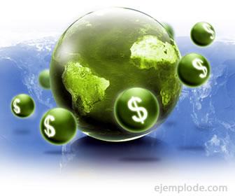 Empresas transaccionales, dinero dando la vuelta alrededor del mundo.