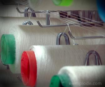 Fábrica de textiles, ejemplo de industria ligera.
