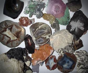 Los minerales son recursos no renovables, no se pueden producir nuevos, sólo transformarse.