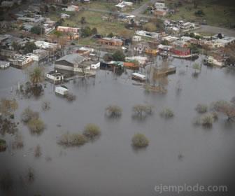 El cambio climático ha provocado la inundación de ciudades costeras.