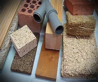 Los materiales de construcción se aprovechan por sus caracteristicas