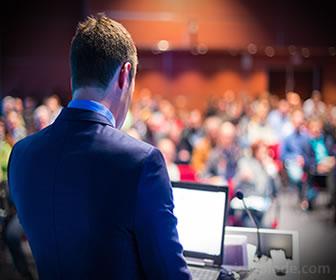 Una conferencia es un tipo de dialogo cientifico