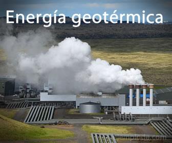 La energía geotérmica genera luz eléctrica