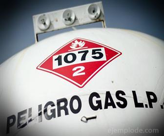 Contenedor de Combustible Gas LP