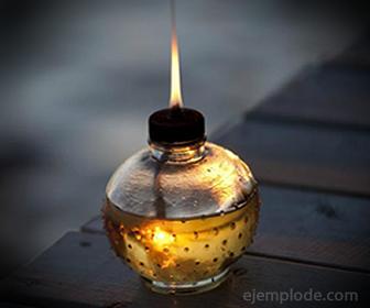 Lámpara de Combustible Keroseno