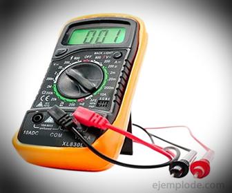 Amperimetro, para medir intensidad de Corriente Eléctrica