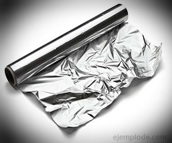 Papel Aluminio, resultado de una Deformación