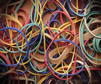 Ligas de hule