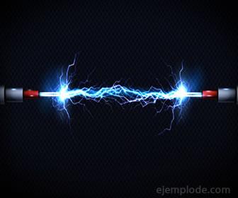 Carga eléctrica viajando