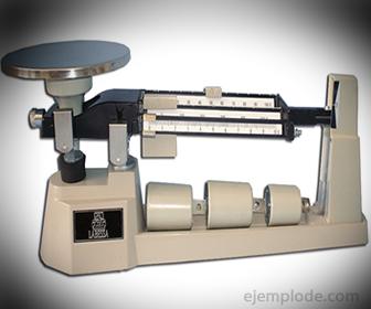 Báscula manual o granataria
