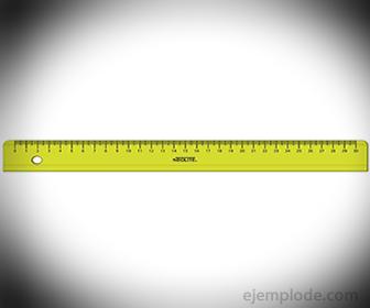 La Regla como medidora de distancia