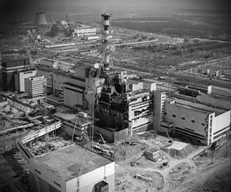 Foto de la Planta Nuclear de Chernobyl
