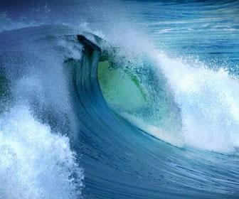 Las olas marinas son una fuente de energía