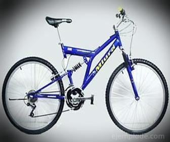 Polea en una bicicleta