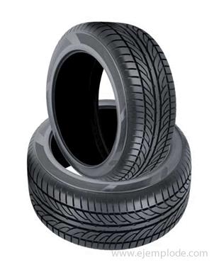 Llantas o neumáticos.