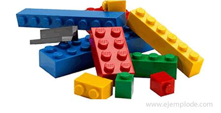 Aplicaciones del polipropileno, legos.
