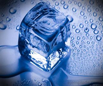 Derretimiento de un hielo, Proceso Isotérmico