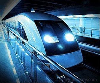 Tren de Levitación Magnética (MAGLEV)