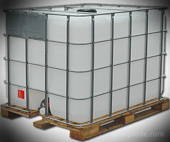 Contenedor de plástico para sustancias corrosivas