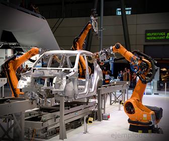 Ejemplo de Trabajo Mecánico en Brazos Robóticos