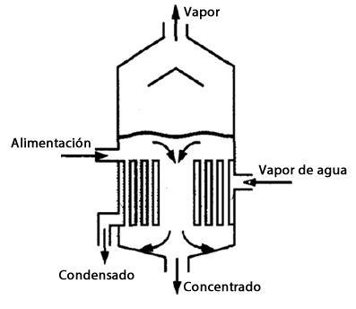 Evaporador de Calandria