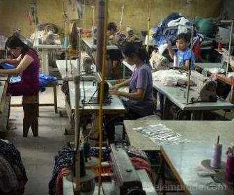 Mano de obra barata y maquilas en países subdesarrollados