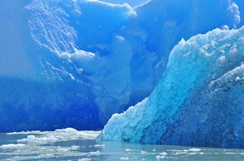 Iceberg en el oceano glacial ártico