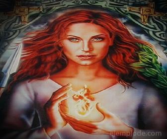 Diosa Celta Brigit