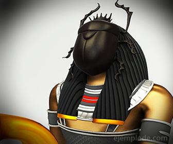 Dios Egipcio Khepra