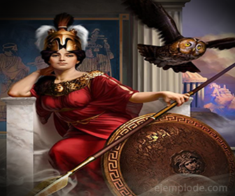 Diosa del Olimpo: Atenea