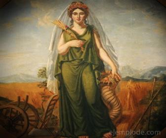 Diosa Griega Démeter