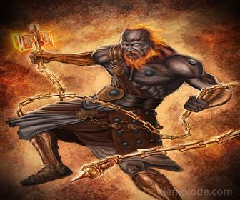 Dios del Olimpo: Hefesto