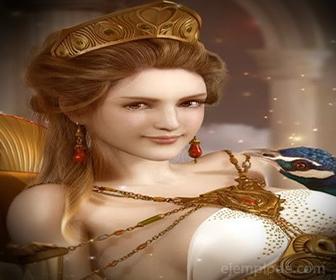 Diosa del Olimpo: Hera