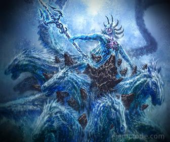 Dios del Olimpo: Poseidón
