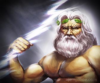 Dios del Olimpo: Zeus