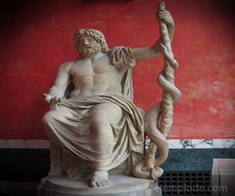 Dios Romano Esculapio
