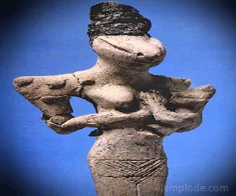 Nammu, Diosa Sumeria de las Aguas primordiales