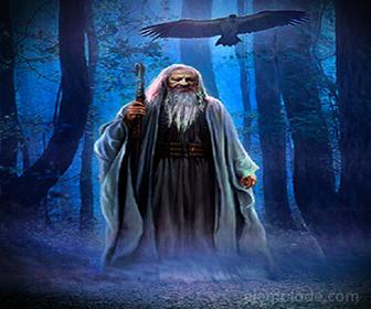 Druida, comunicador de la Mitología Celta