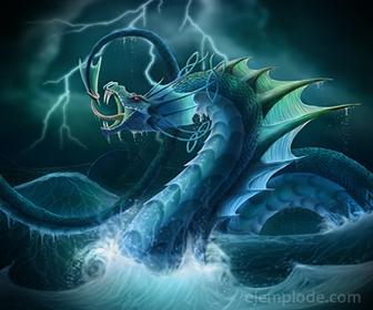 Jormungandr, Serpiente de Midgard