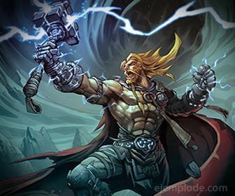 Dios Nordico Thor