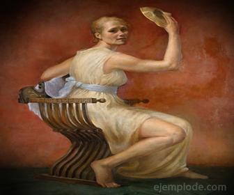 Melpómene, Musa de la Tragedia