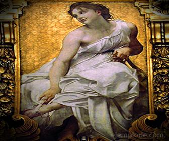 Terpsícore, Musa de la Poesía Lírica y la Danza