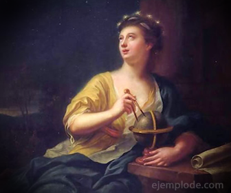 Urania, Musa de la Astronomía