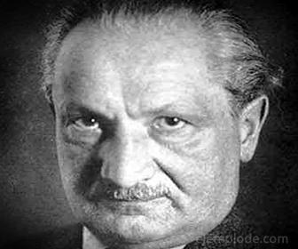 Filósofo Alemán Martin Heidegger