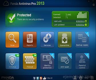 Pantalla de las Funciones de un Antivirus