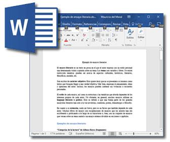 Procesador de texto, Microsoft Word