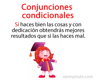 Las conjunciones condicionales, en específico, se clasifican dentro de las llamadas conjunciones subordinantes.